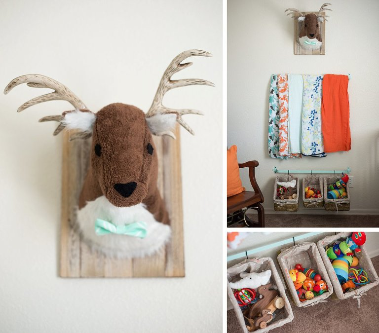 Our New Mint And Orange Nursery Folly Photography